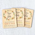 Wooden Magnetic Save The Dates